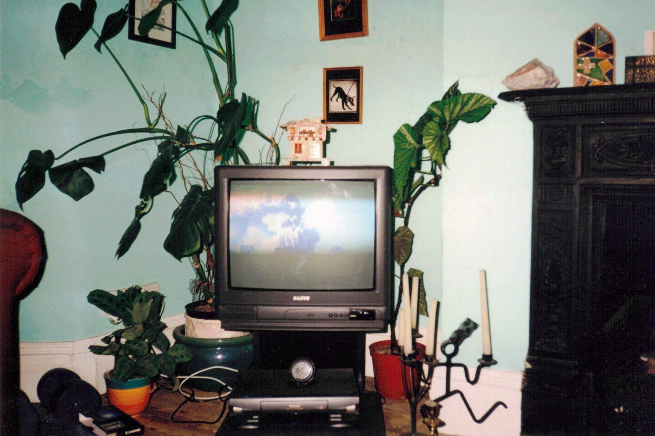 9/11 Pic of my old TV on that terrible day